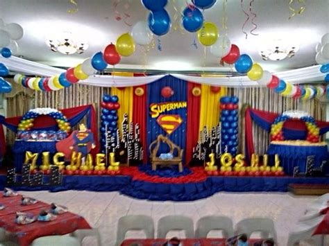 Superman Decorations by 17 Best Images About Superman Bday Theme On