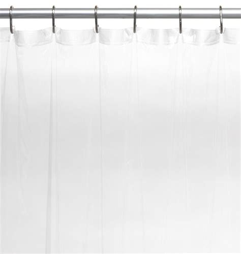 extra long vinyl shower curtain extra long 5 gauge vinyl shower curtain liner clear