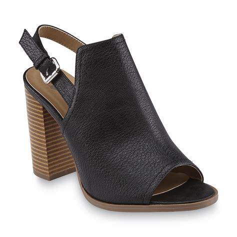 route 66 s tamika black slingback sandal shoes