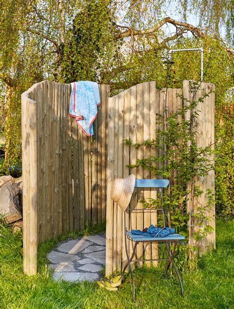 solardusche garten diy anleitung gartendusche selber bauen heimwerken