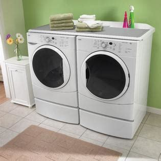 washer and dryer topper kenmore laundry plus work surface appliances