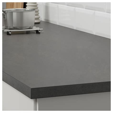 ikea countertop ekbacken worktop concrete effect 186x2 8 cm ikea