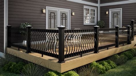 Deck Railing Trends With Wrought Iron Picture ~ Decoregrupo