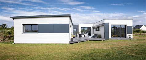maisons nature bois de style contemporain la