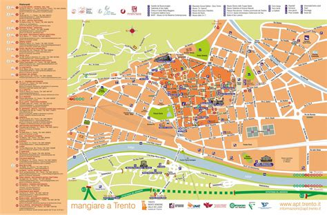ufficio turistico trento mappa turistica di trento mediaomnia