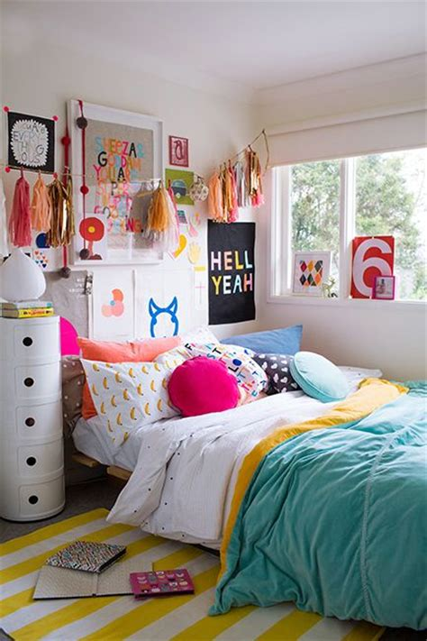 Colorful Teenage Girl Bedroom Ideas | teenage girl bedroom colors super colorful bedroom makes