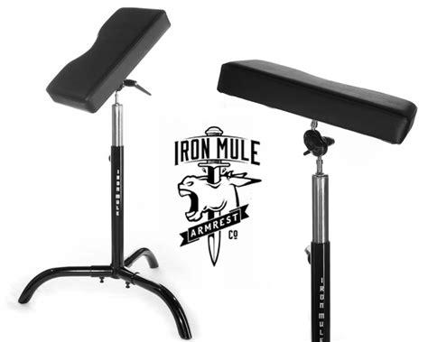 tattoo arm chair iron mule armrest armrest shop equipment furniture