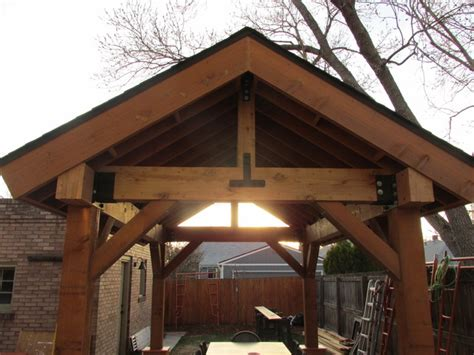 Rustic Patio Covers by Outdoor Living Space Patio Cover Pergola Cedar Post