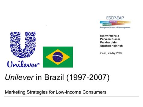 the voice soars with unilever sponsorship adweek unilever brazil case study solutions how to write a good