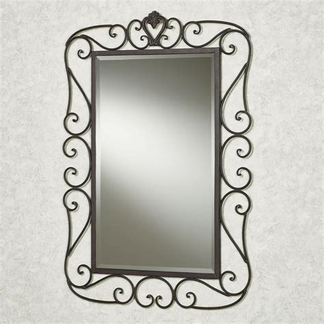 wrought iron bathroom mirror 94 wrought iron bathroom mirror asana 31 inch