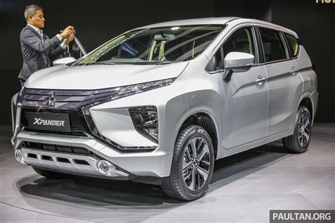 mpv car 2017 giias 2017 mitsubishi xpander production suv styled mpv
