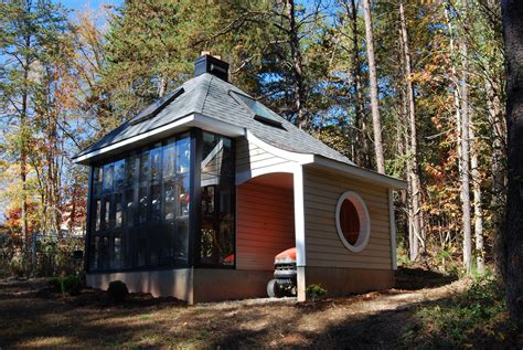 Tiny Home With Greenhouse Jeff S Cabin Greenhouse Tiny House Design