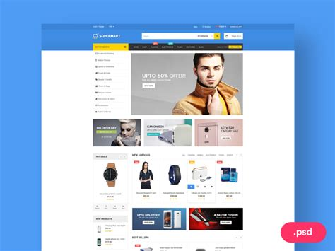 Ecommerce Website Template Free Psd Download Download Psd Ecommerce P L Template