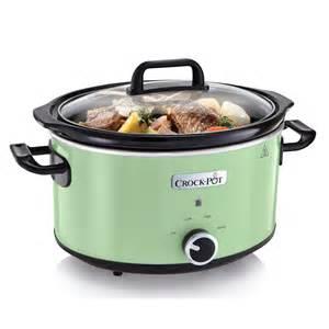 crock pots 2 4l white classic cooker crock pot