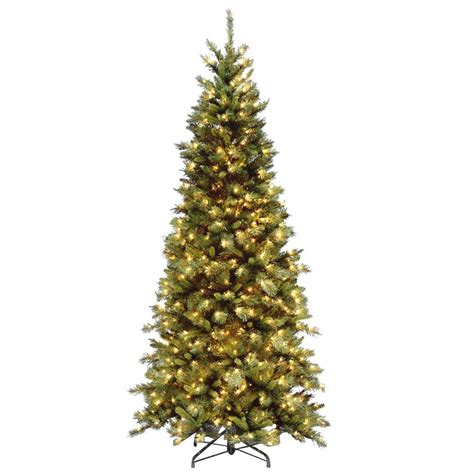 national tree company 7 5 ft tiffany fir slim artificial