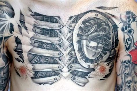 biomechanical heart tattoo designs biomechanical tattoos designs pictures
