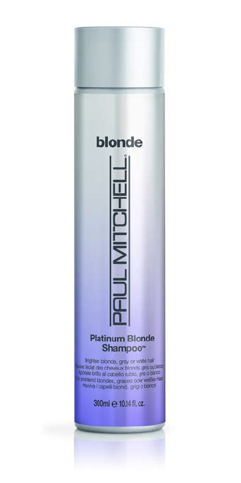 pm shines directions ehow ehow how to discover the platinum blonde shoo by paul mitchell