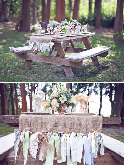 wedding bench decorations rustic wedding reception ideas