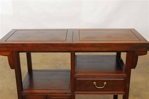chinese rosewood buffet serving table for sale at 1stdibs