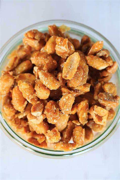 dry roasted peanuts vs roasted peanuts