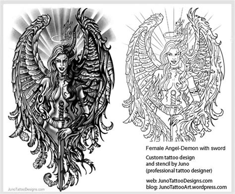 angel archives how to create a tattoo 100 online