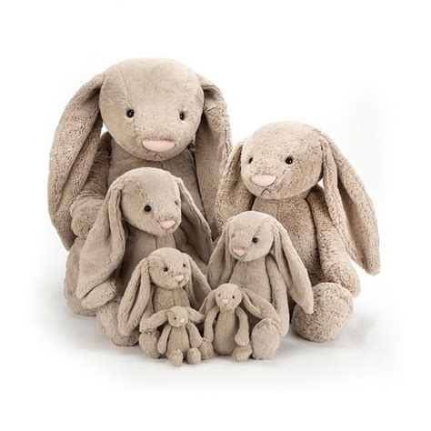 Is Really Bashful by Jellycat Bashful Beige Bunny Big 108cm