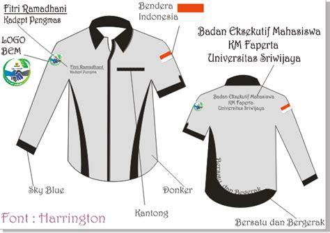 corel draw x5 desain kemeja n ashifah s blog design kemeja organisasi menggunakan