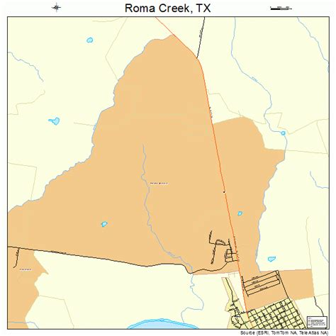 roma texas map roma creek texas map 4863026