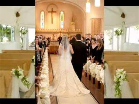 Church wedding decoration ideas   YouTube