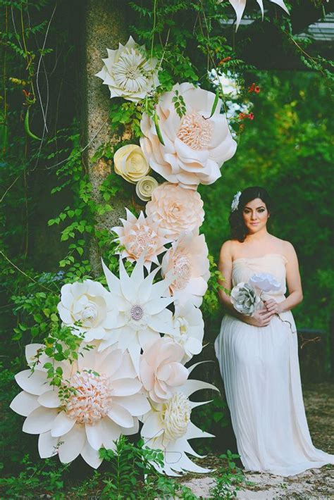 How To Make Paper Flowers For A Wedding - 35 creative paper flower wedding ideas deer pearl flowers