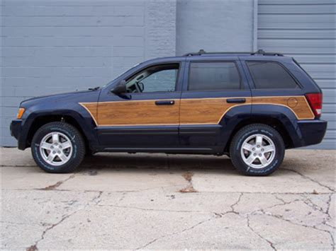 Jeep With Wood Paneling Jeep Grand Wood Panels Images