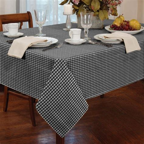 cheap white table cloth black and white checkered tablecloth table covers depot