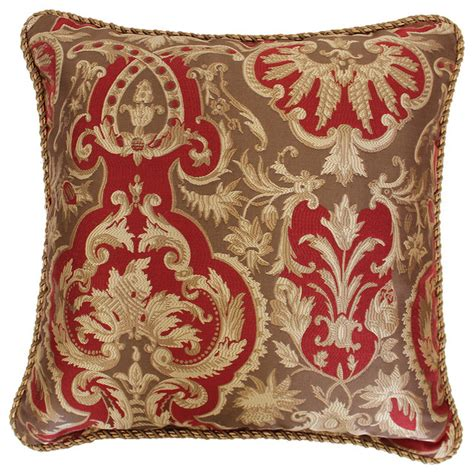 large decorative bed pillows austin horn classics 20 inch botticelli luxury throw