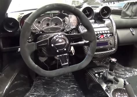 pagani gear shifter pagani will make you a stick shift zonda for the right