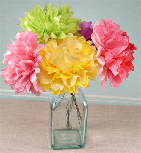 Tissue Paper Flower Craft For - dementia crafts alzheimersactivitiesplus page 2
