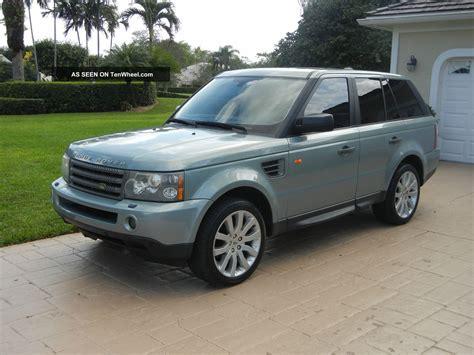 2008 range rover hse sport 4 door luxury sport utility