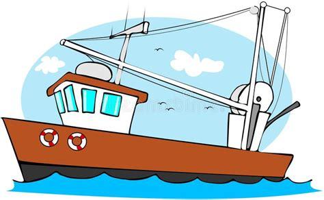 trawler boat clipart fishing trawler stock illustration illustration of
