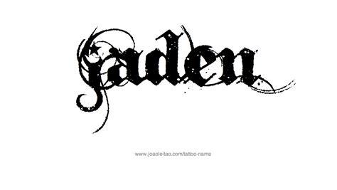tattoo design ideas for names jaden name designs