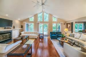 Open Floor Plans With Vaulted Ceilings by Contemporary Ranch Home In Ann Arbor Reinhart Reinhart
