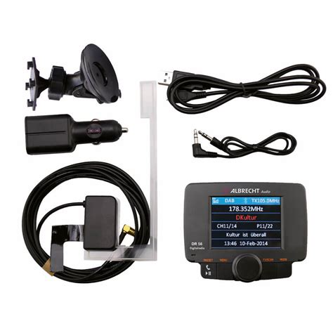 Dab Radio Auto by Albrecht Dr 56 Dab Autoradio Adapter Mit Bluetooth