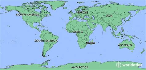 mauritius on a world map where is mauritius where is mauritius located in the