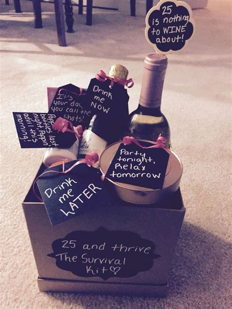 birthday themes 25 year olds 25 best ideas about 25th birthday gifts on pinterest