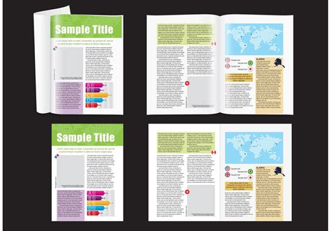 magazine layout vector free download map magazine layout download free vector art stock