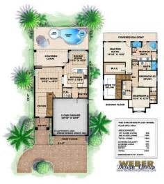 Narrow House Floor Plan Narrow Floor Plan Stratford Place House Plan Home