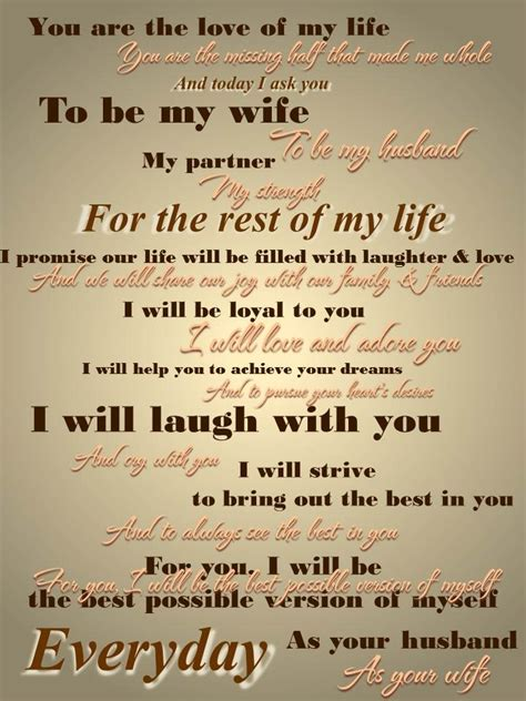 Wedding Vows For Second Marriage by 17 Best Images About Vows On Personalized