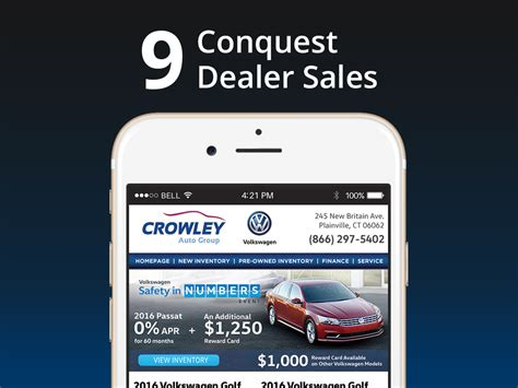 crowley volkswagen conquest automotive