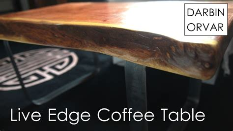 live edge coffee table diy diy coffee table with live edge slab and steel base