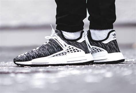 Adidas Nmd Hu X Pharrell William Breathe Walk Sneakers Mirror pharrell williams x adidas nmd hu human race tr trail