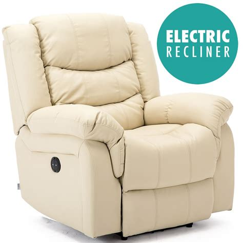 electric recliner armchair seattle electric leather auto recliner armchair sofa home