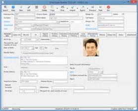 employee profile template 3 employee profile templates excel xlts